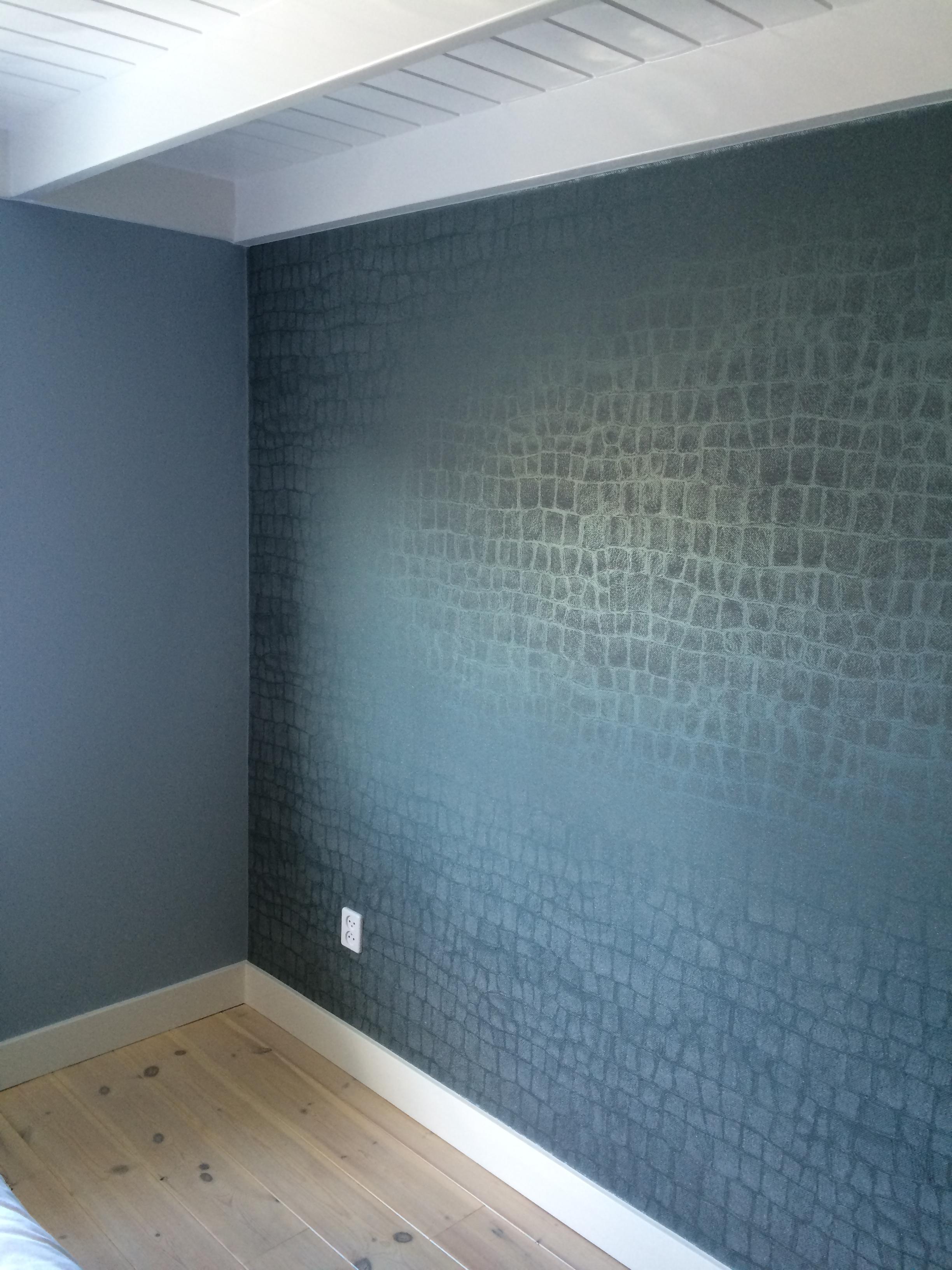 Behang Voor Slaapkamer : Slaapkamer met bloemen behang Inrichting-huis ...